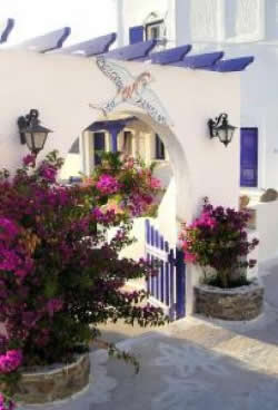 Greek Village House